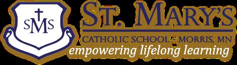 St Marys School Morris logo